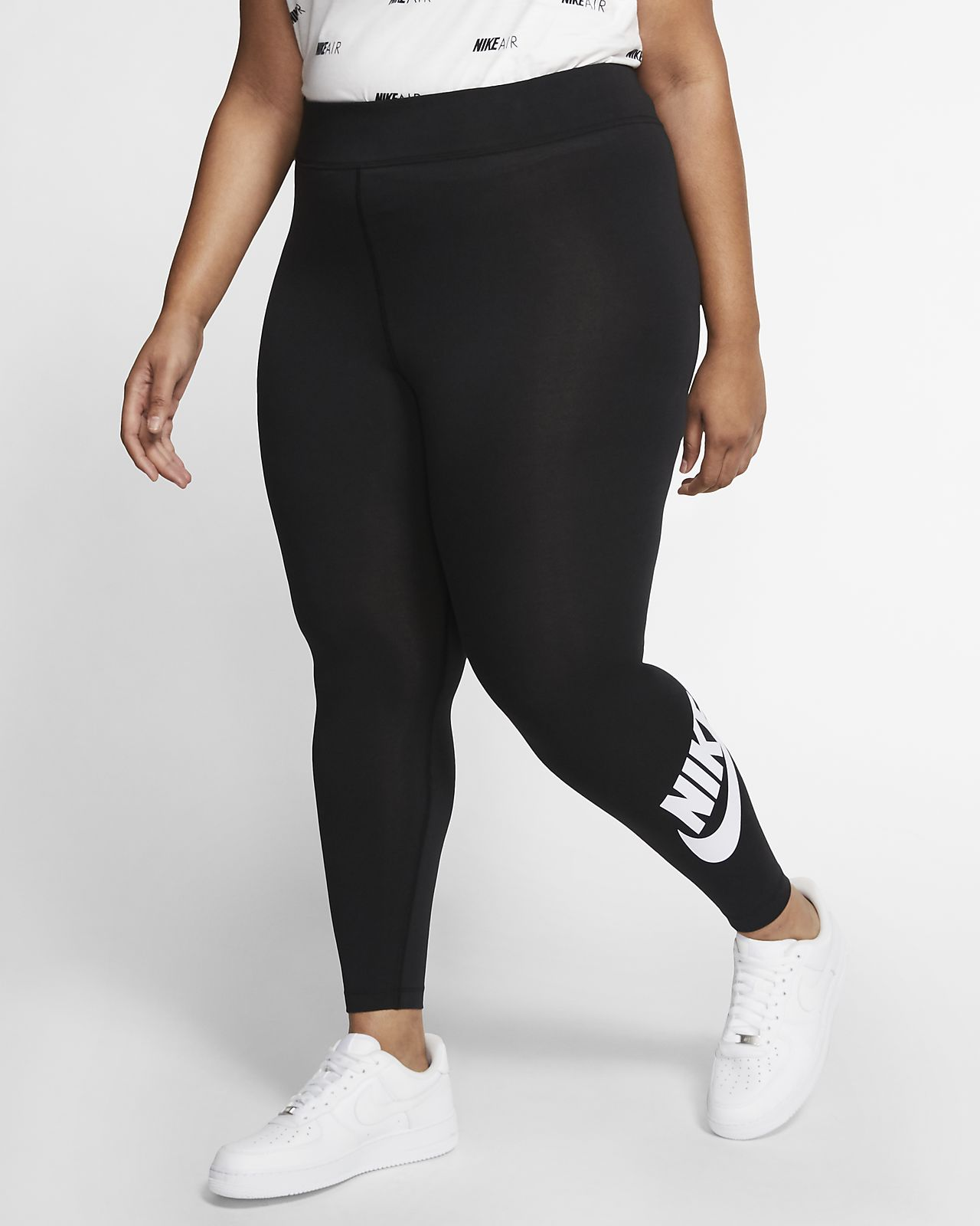 Женские леггинсы с высокой посадкой Nike Sportswear Leg-A-See (большие размеры)