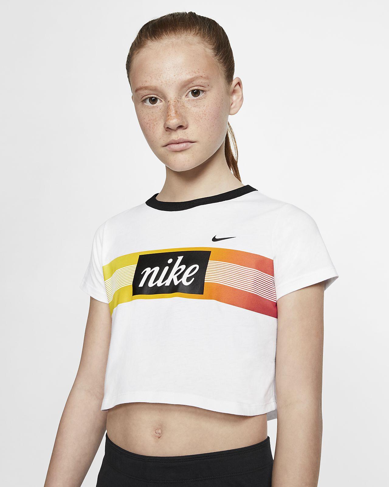 Nike Sportswear Big Kids' (Girls') Crop Top