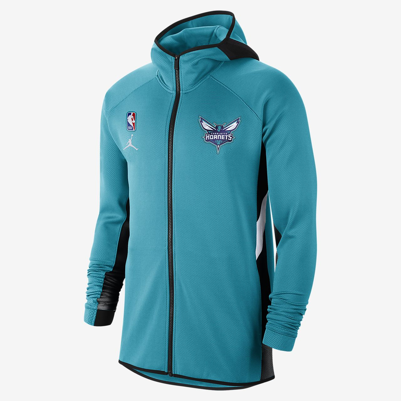Charlotte Hornets Nike Therma Flex Showtime Jacket Rapid