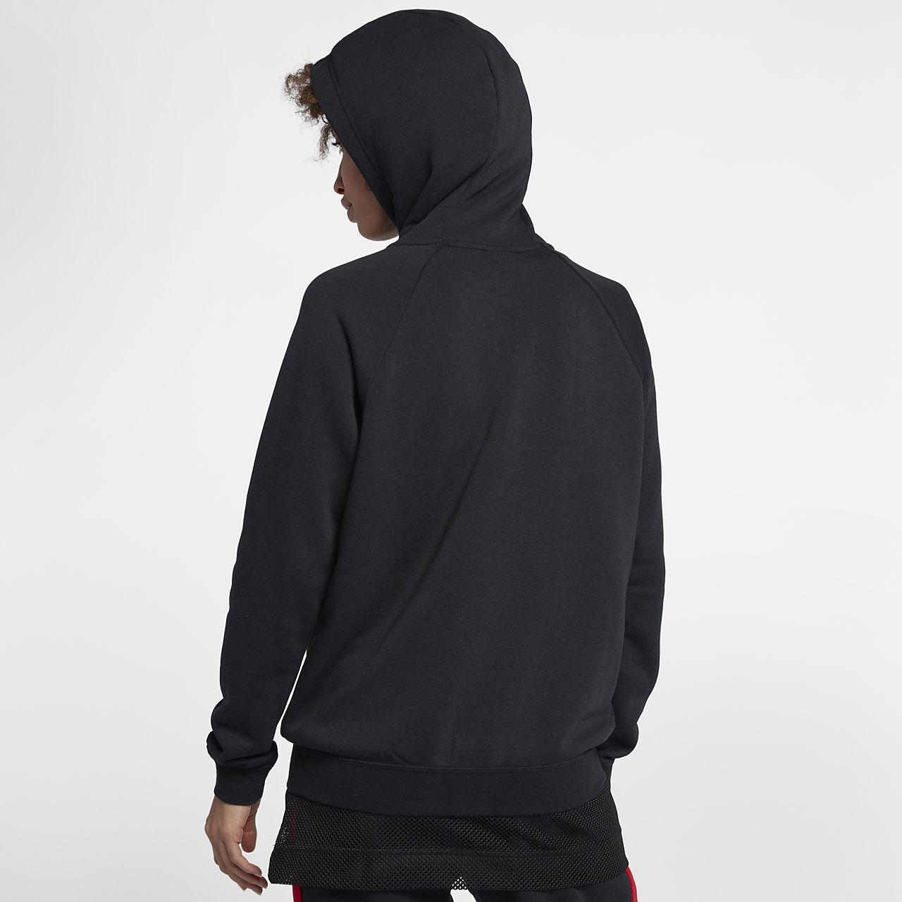 ba6550e77719 ... Sudadera con capucha de cierre completo para mujer Nike Sportswear Rally