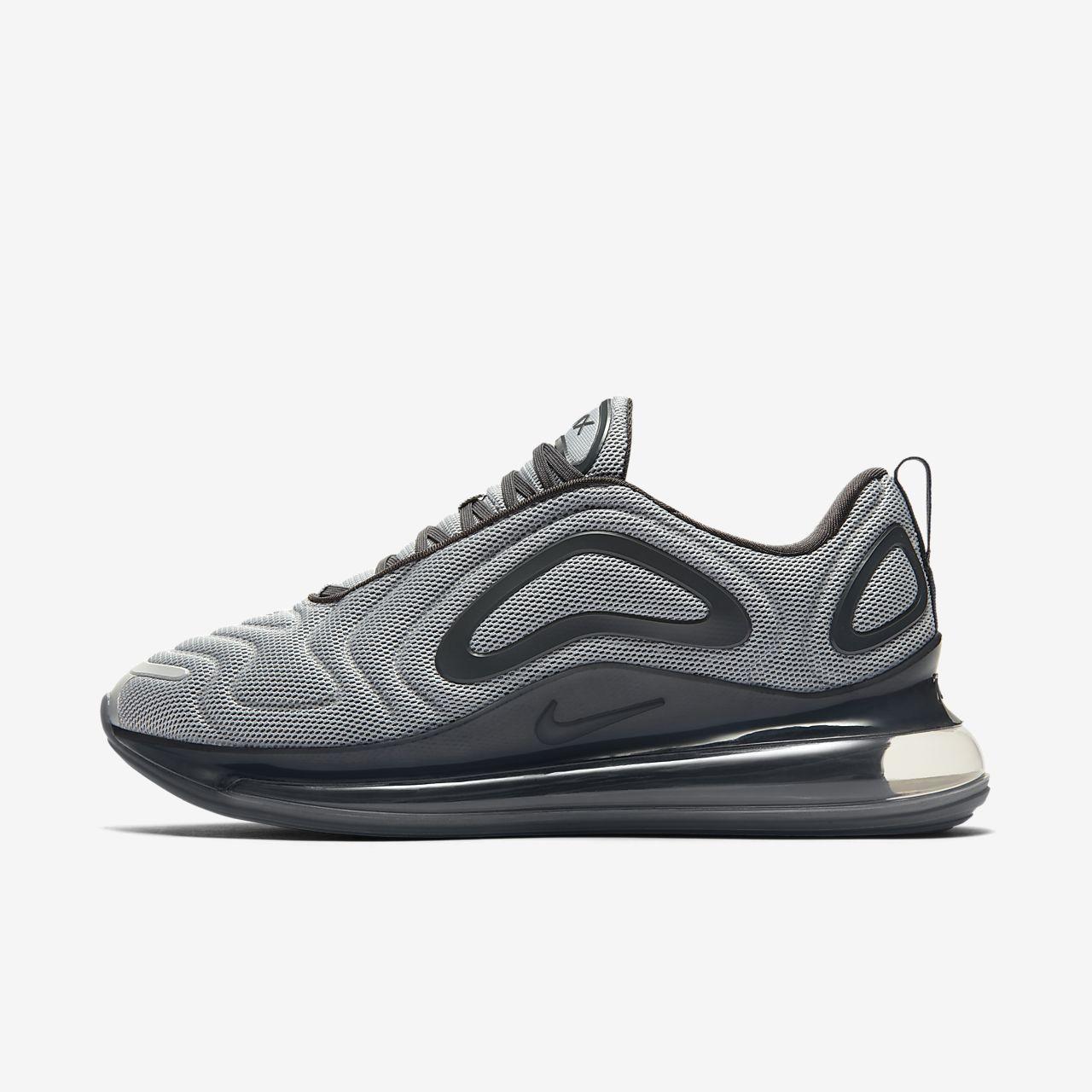 Nike Air Max 720 Chaussure pour Homme Femme Gris Gris