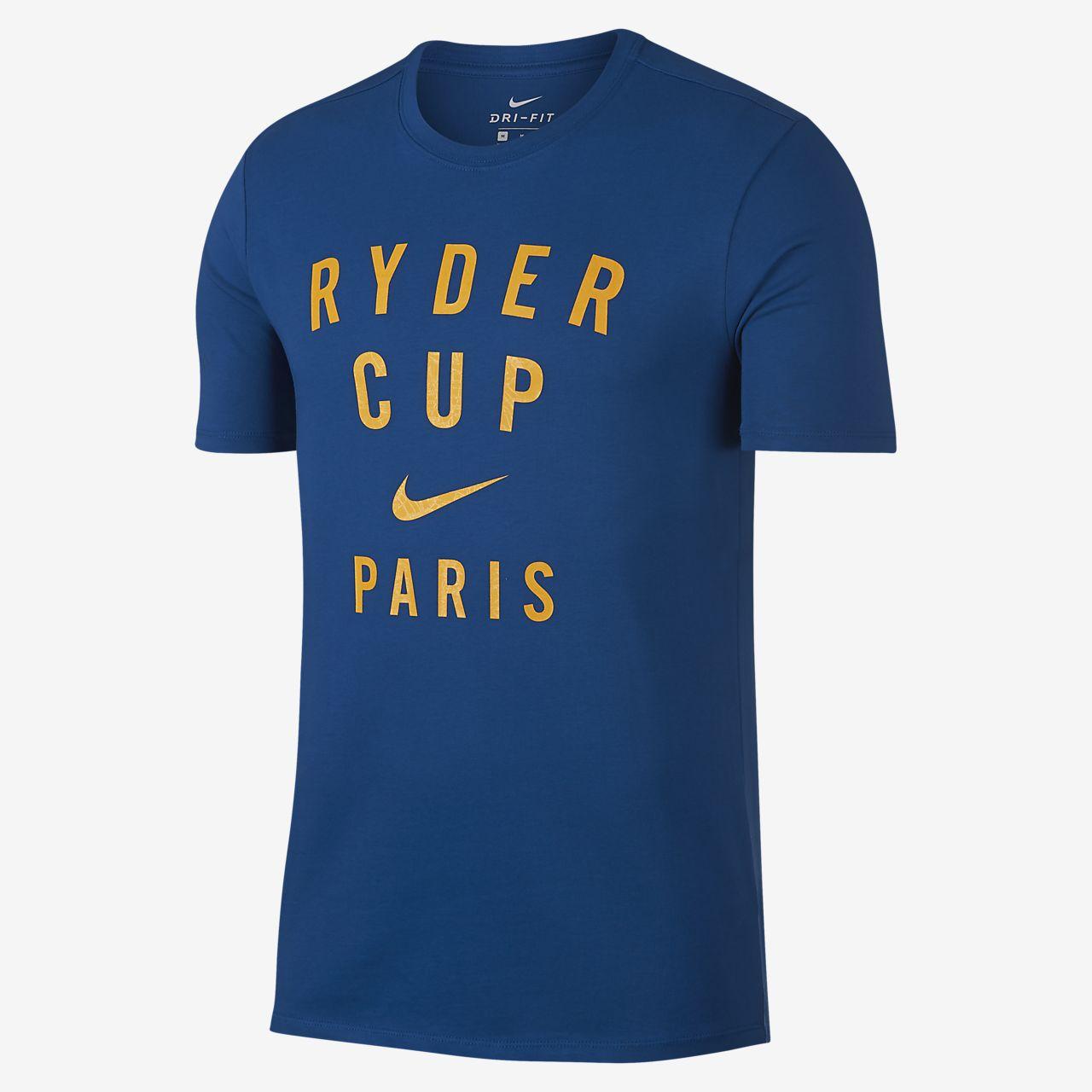 Nike Dri-FIT Ryder Cup-grafisk golf-T-shirt