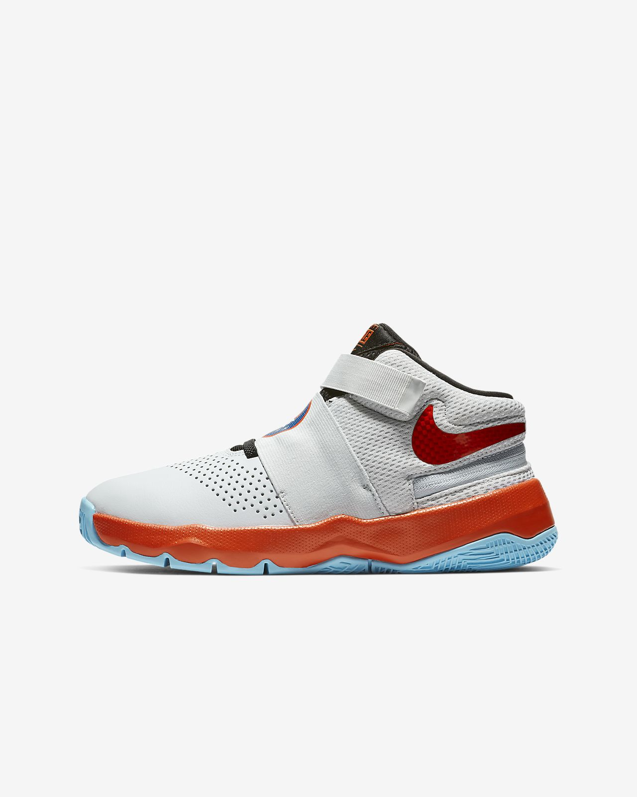 new concept 14f59 4b3d4 ... Nike Team Hustle D 8 FlyEase Basketballschuh für ältere Kinder