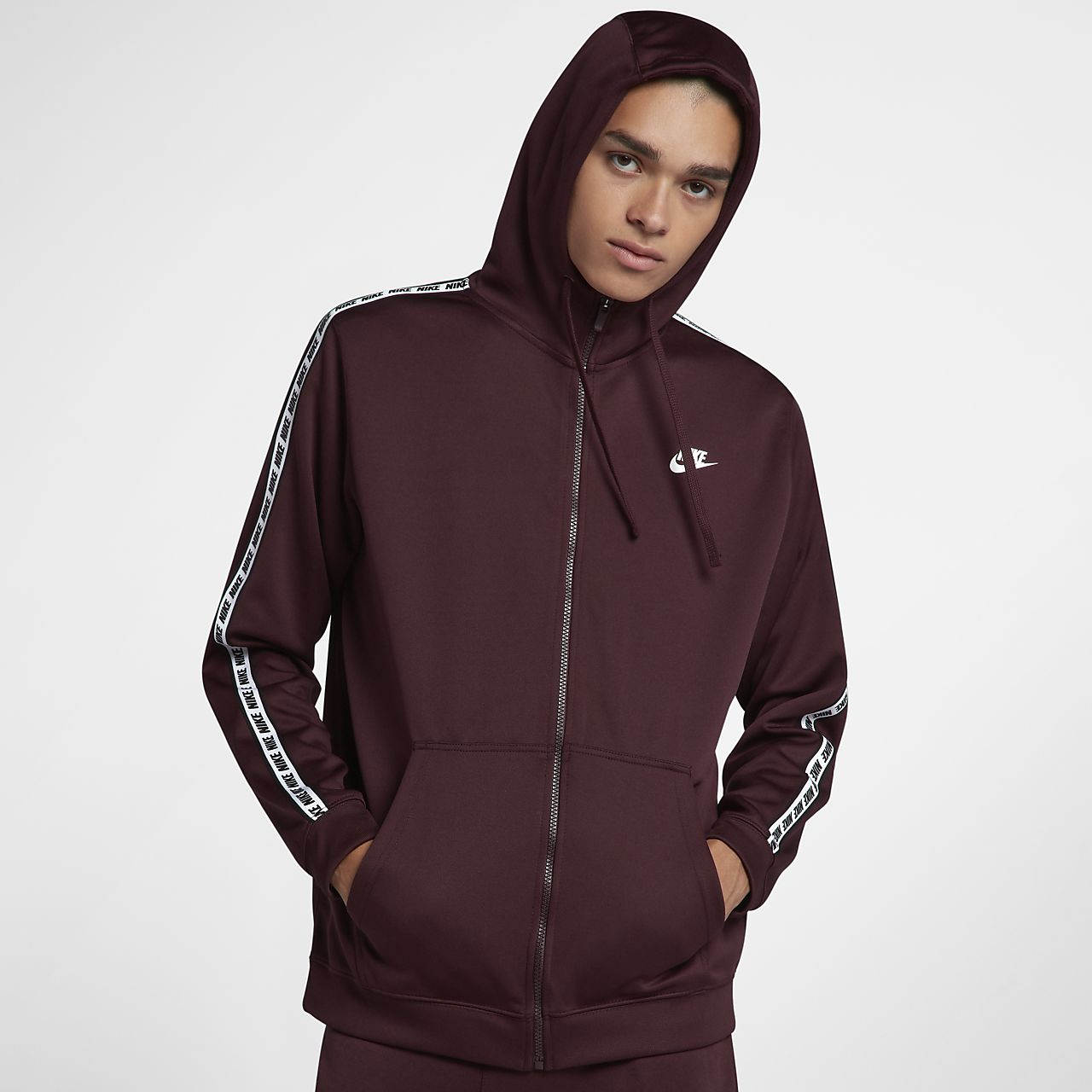 Cremallera Sportswear Capucha Sudadera Completa Con Nike wTCqtPC