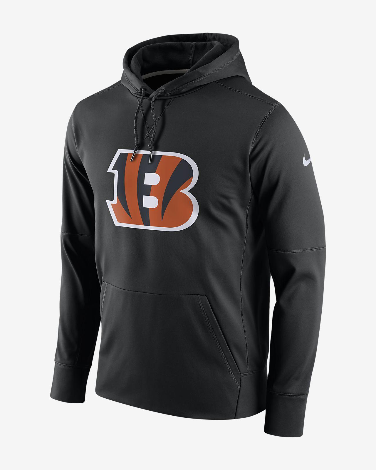Sweat à capuche avec logo Nike Essential (NFL Bengals) pour Homme