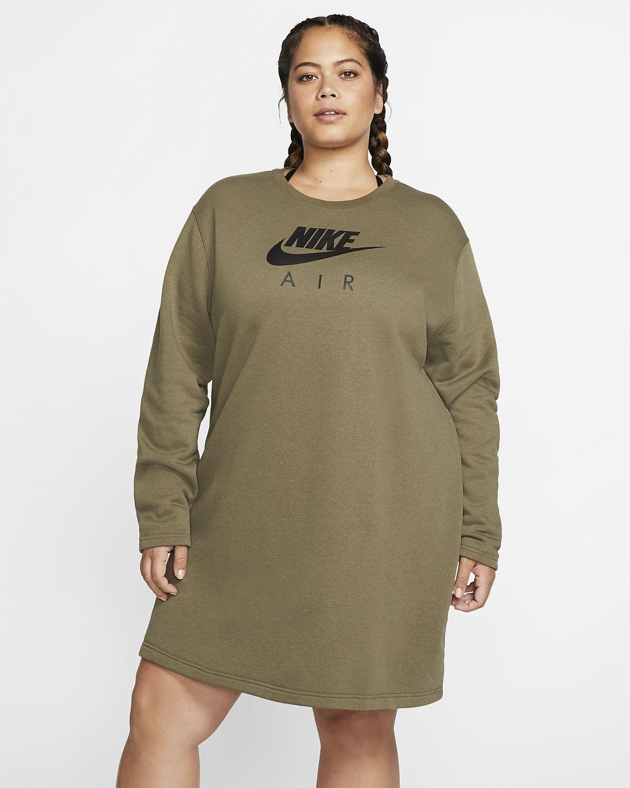 Nike Air Women\'s Fleece Dress (Plus Size)