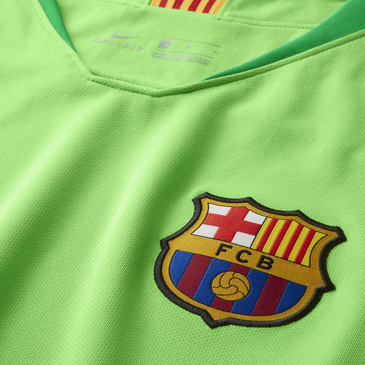 77cc9dde7 2018 19 FC Barcelona Stadium Goalkeeper Men s Football Shirt. Nike ...