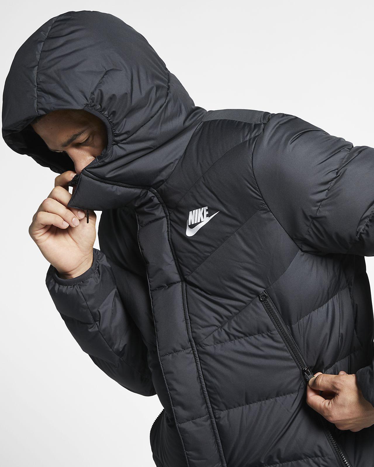 Nike Sportswear Windrunner Down Fill Puffer Parka mit Kapuze für Herren