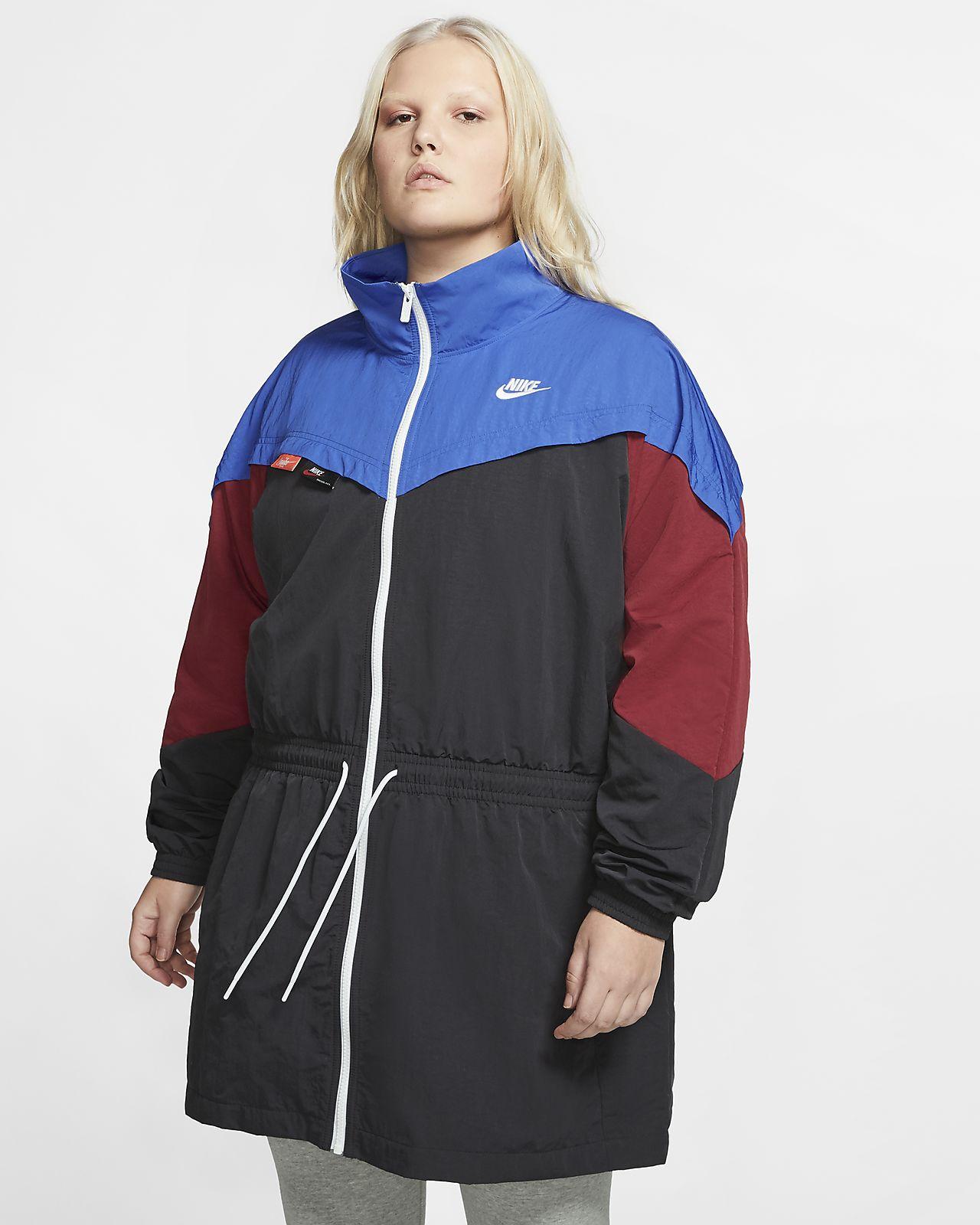 Nike Sportswear Women's Woven Track Jacket (Plus Size)