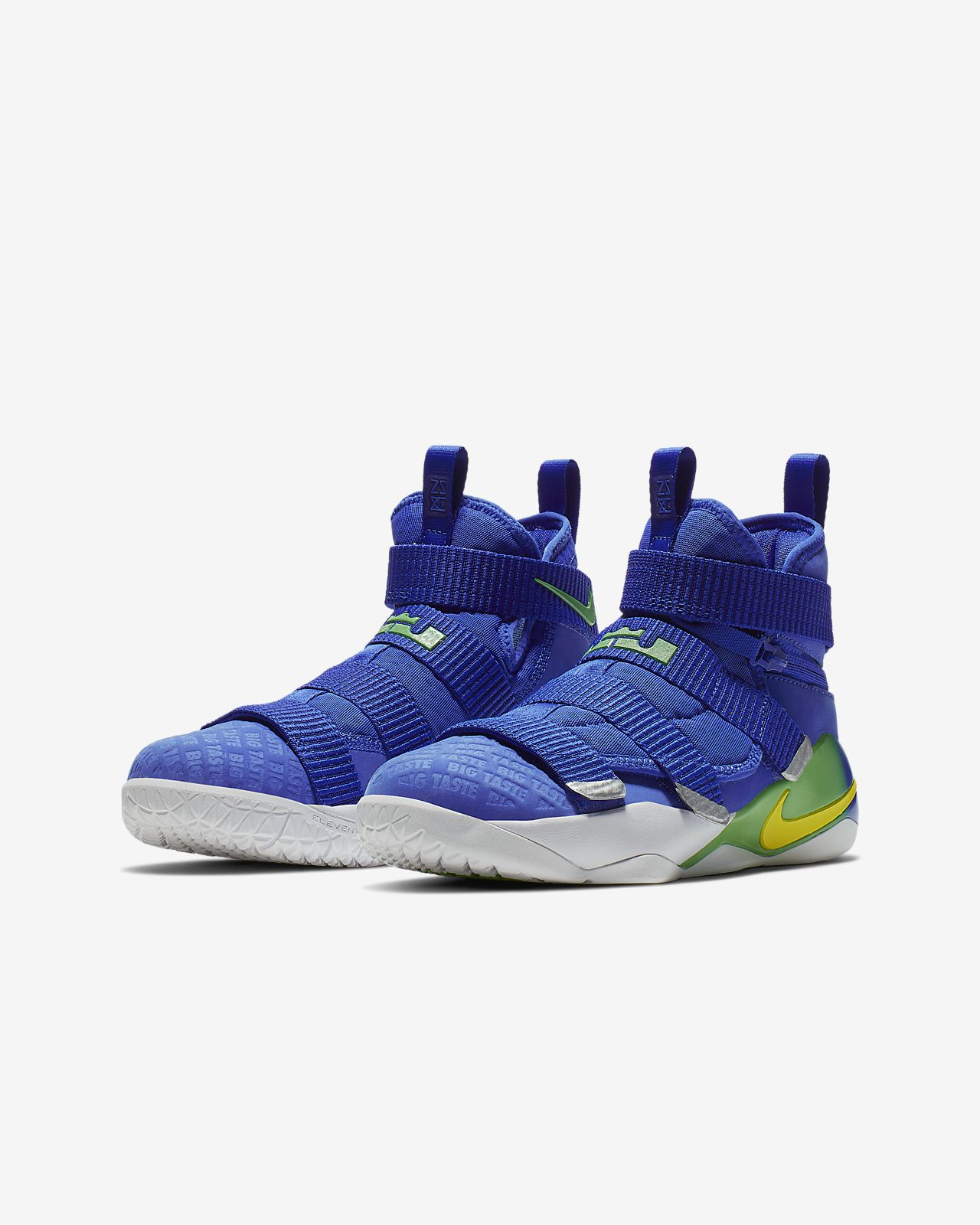 on sale a43a0 ec5d9 ... LeBron Soldier 11 FlyEase Big Kids  Basketball Shoe