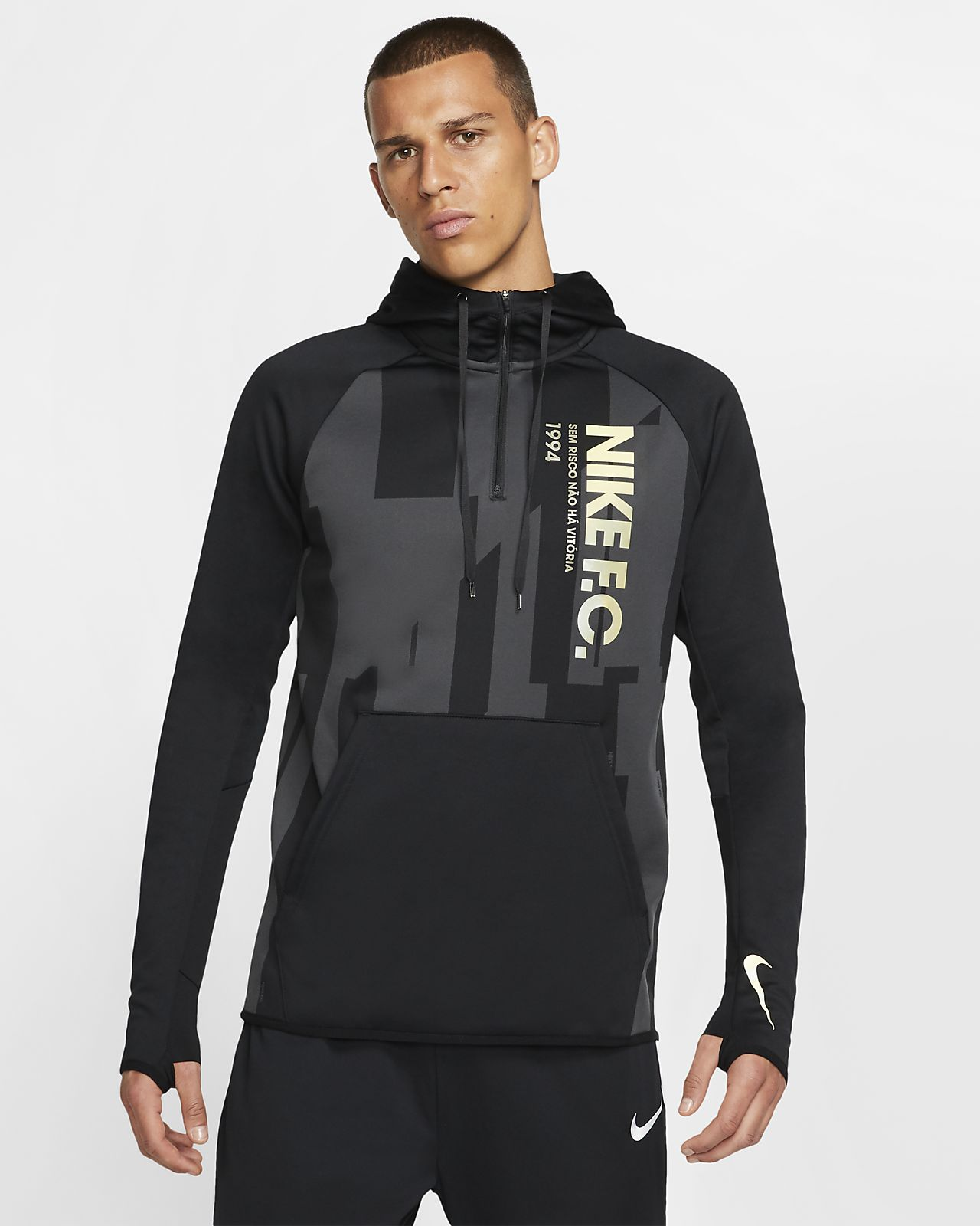 Męska bluza z kapturem Nike F.C.