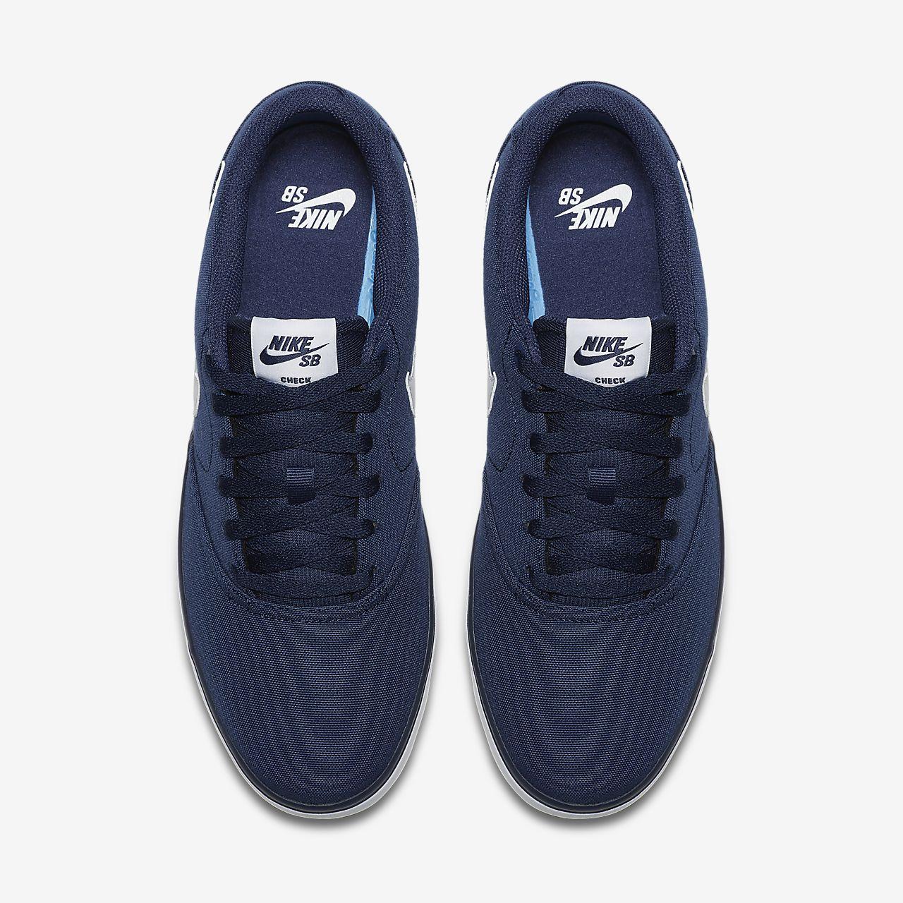 a1cefe068003 Nike SB Check Solarsoft Canvas Men s Skateboarding Shoe. Nike.com LU