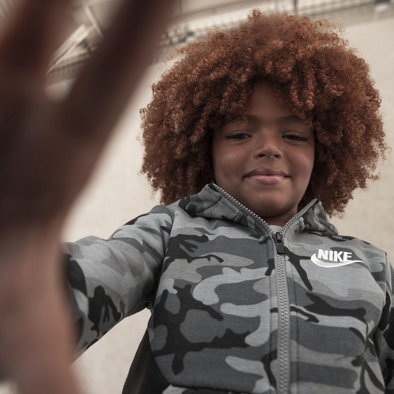 Bluza z kapturem dla małych dzieci Nike Sportswear Club Fleece