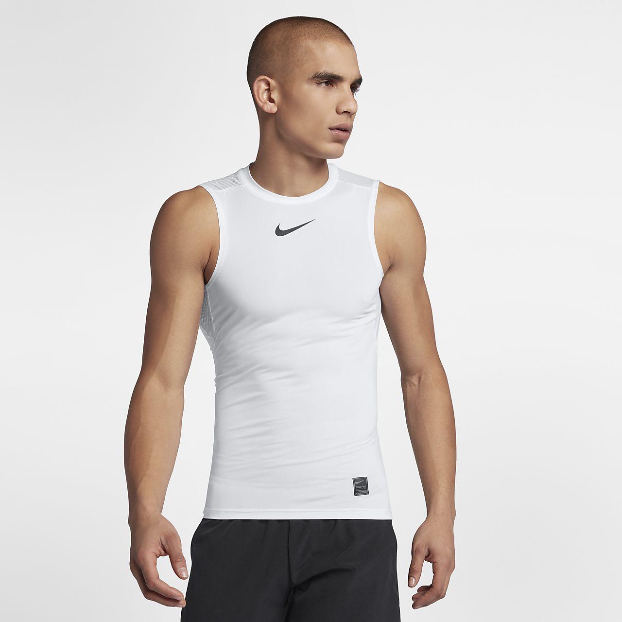Nike Pro ermeløs treningstrøye for herre