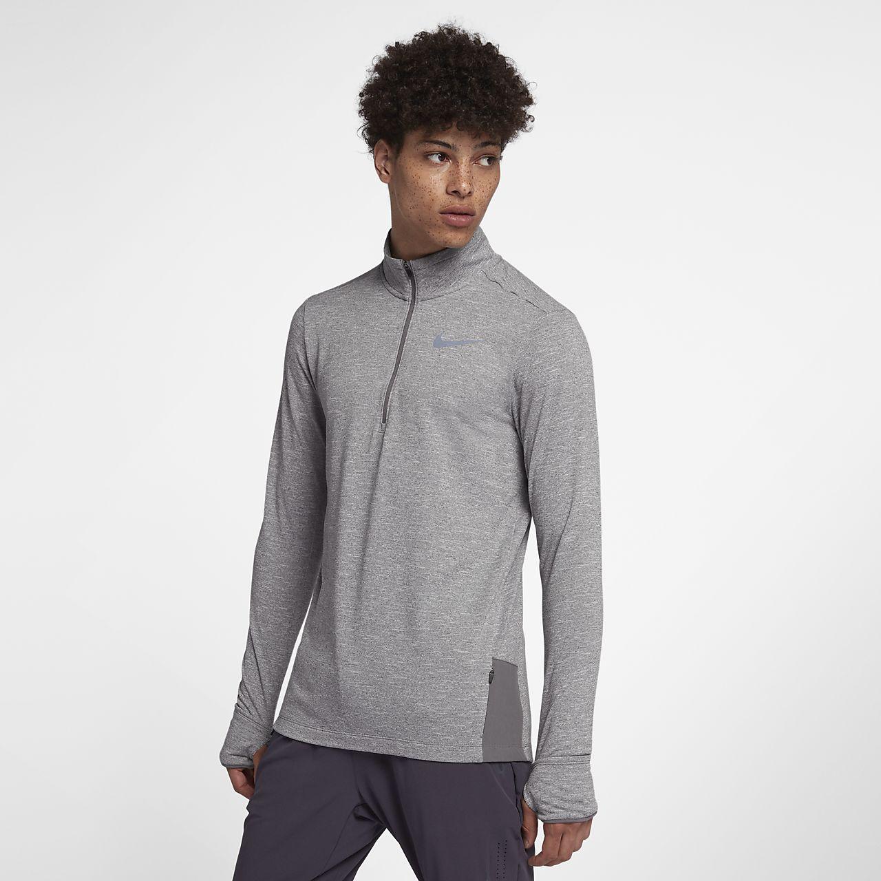 Nike Therma Sphere Herren-Laufoberteil mit Halbreißverschluss