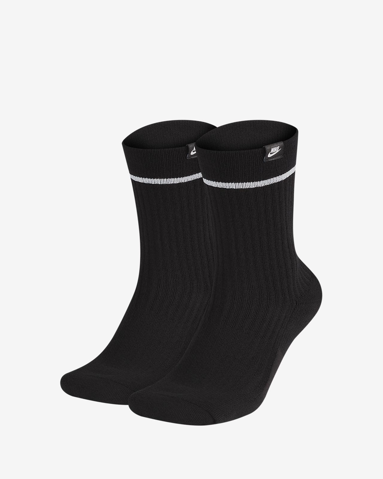 Středně vysoké ponožky Nike SNEAKR Sox Essential (2 páry)