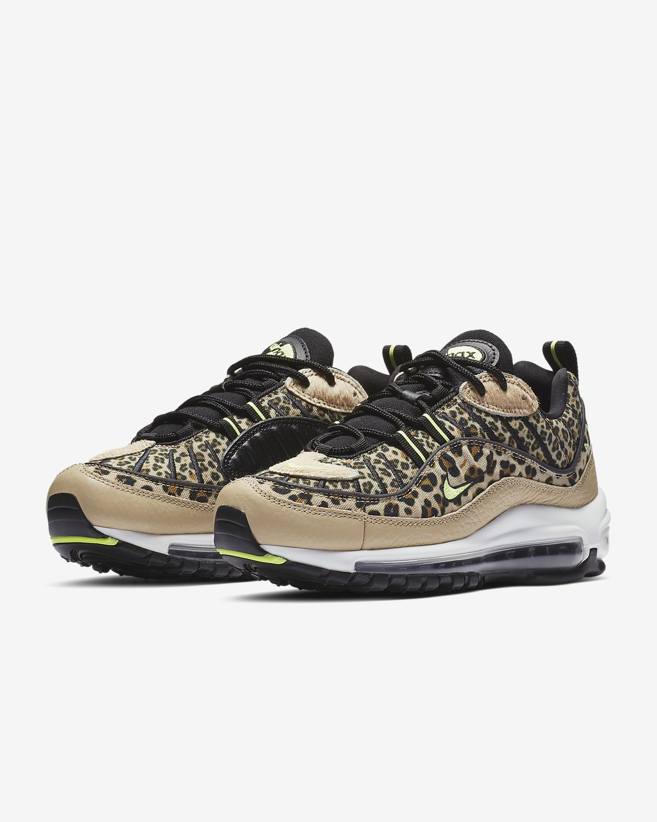new concept f6b95 08833 ... Nike Air Max 98 Premium Animal Women s Shoe