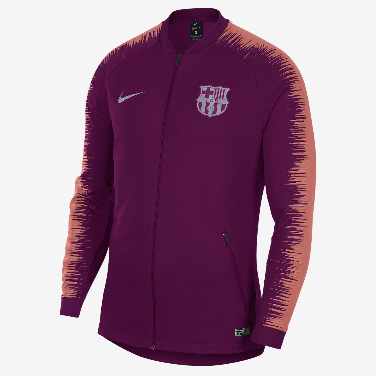 FC Barcelona Anthem Men s Football Jacket. Nike.com PT 8bfc3499e