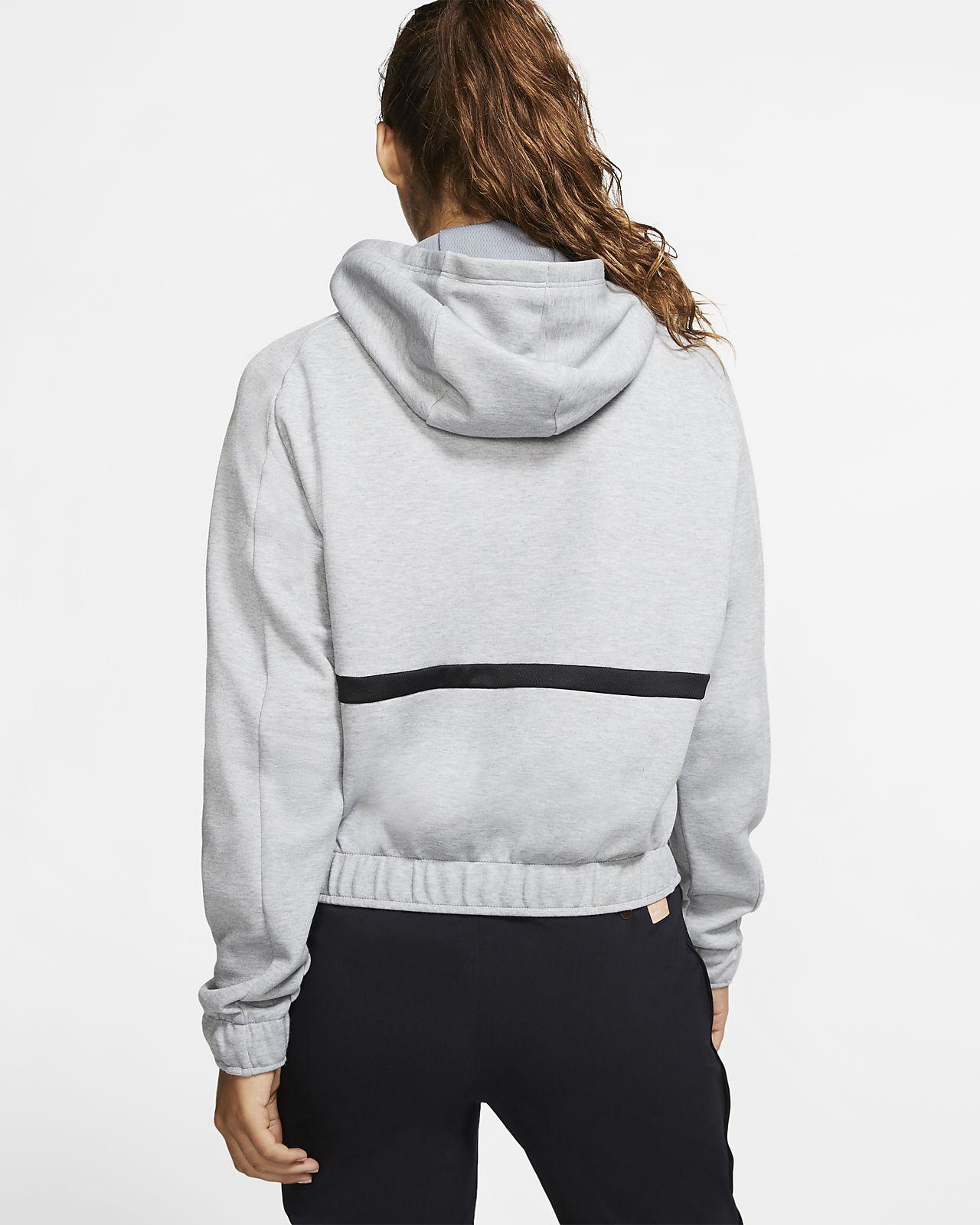 Nike Damen Hoodie Kapuzenpullover Gr.XL (DE 42) Therma Fit