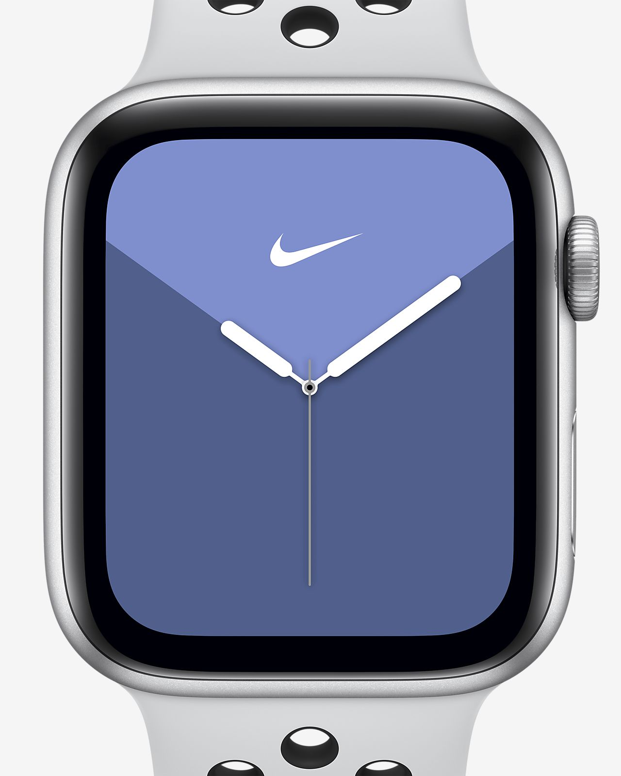 Apple Watch Nike Series 5 (GPS + Cellular) with Nike Sport Band 44mm Silver Aluminum Case