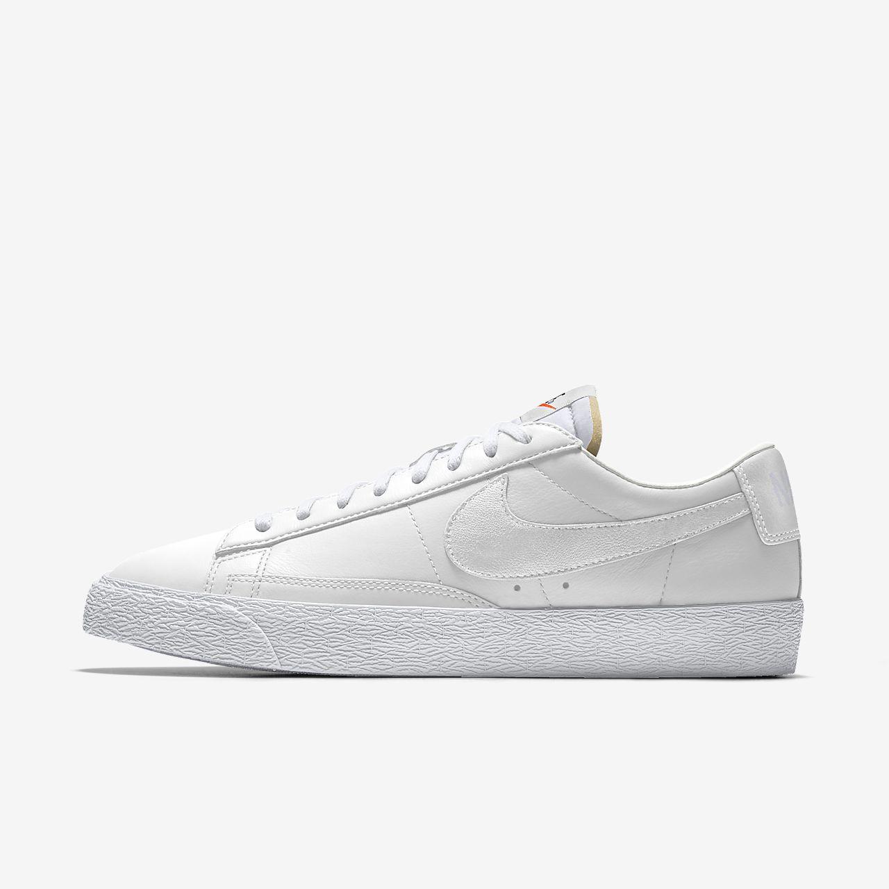 Specialdesignad sko Nike Blazer Low By You för kvinnor