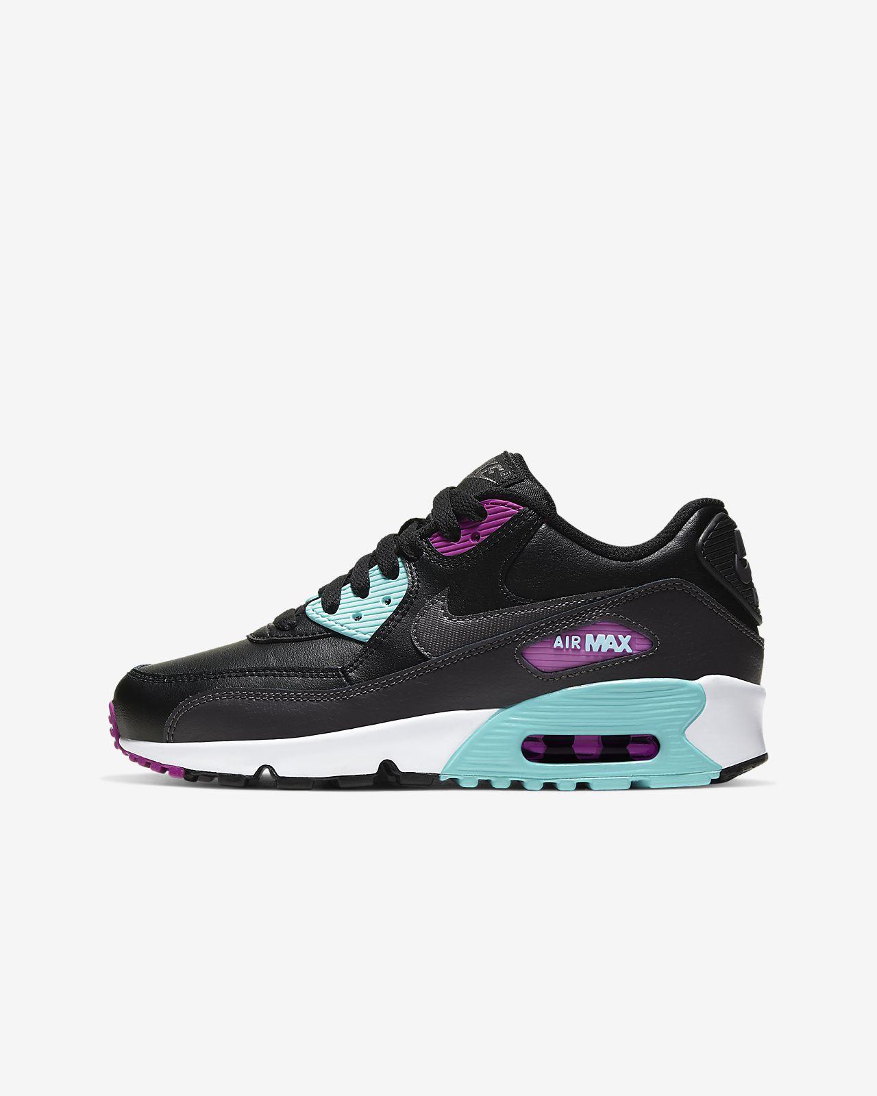 huge discount eef9f ae1dc Nike Air Max 90 Leather Big Kids' Shoe