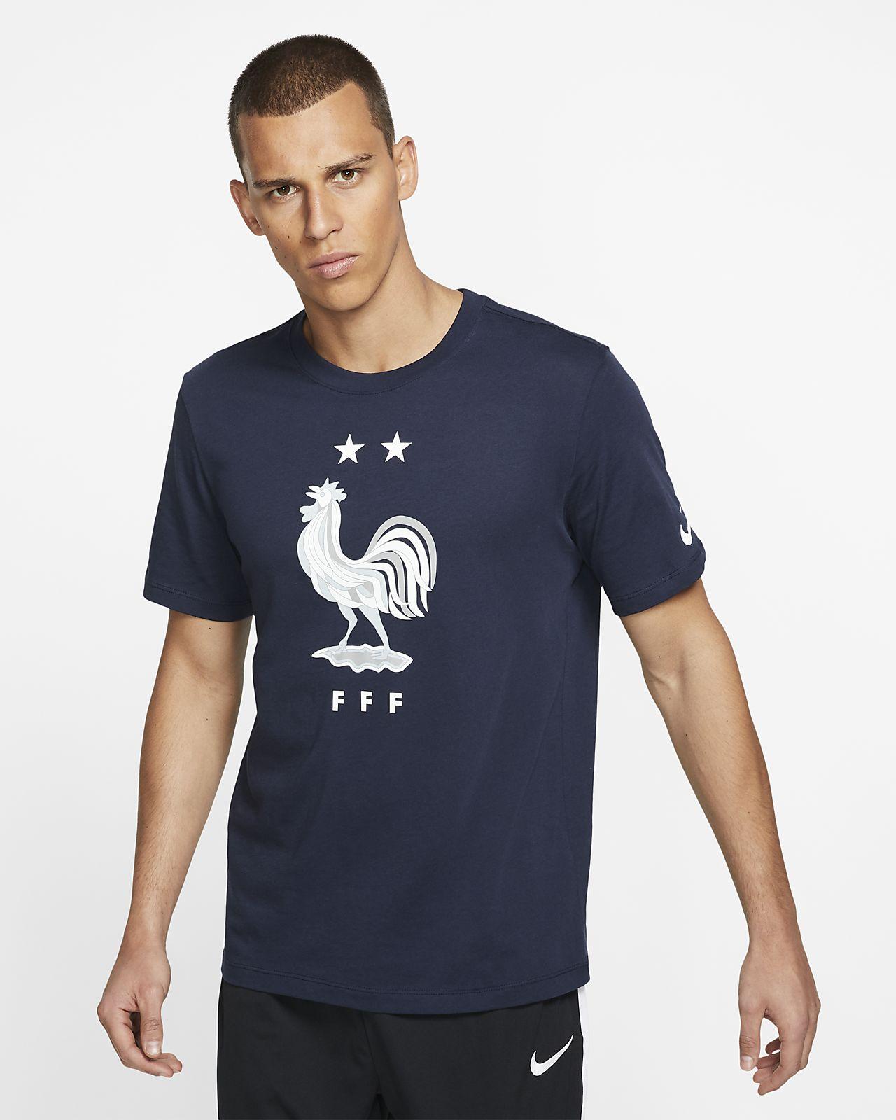 Męski T-shirt piłkarski FFF