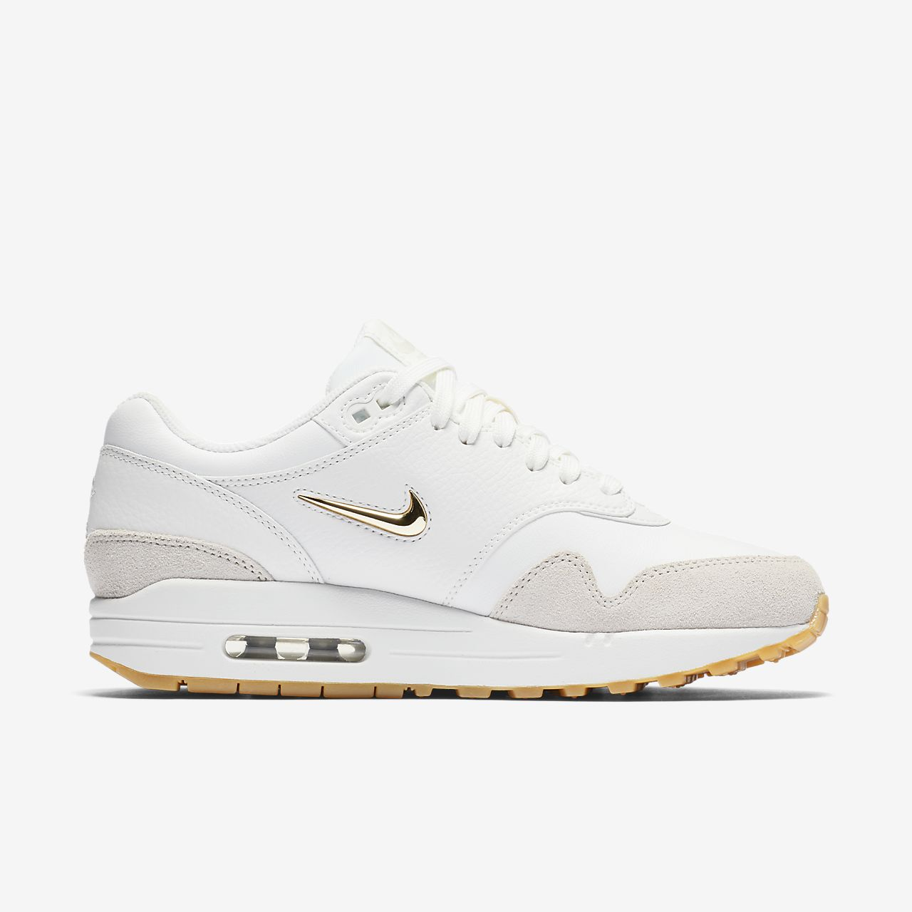 nike air max 1 premium grey yellow mens trainers nz