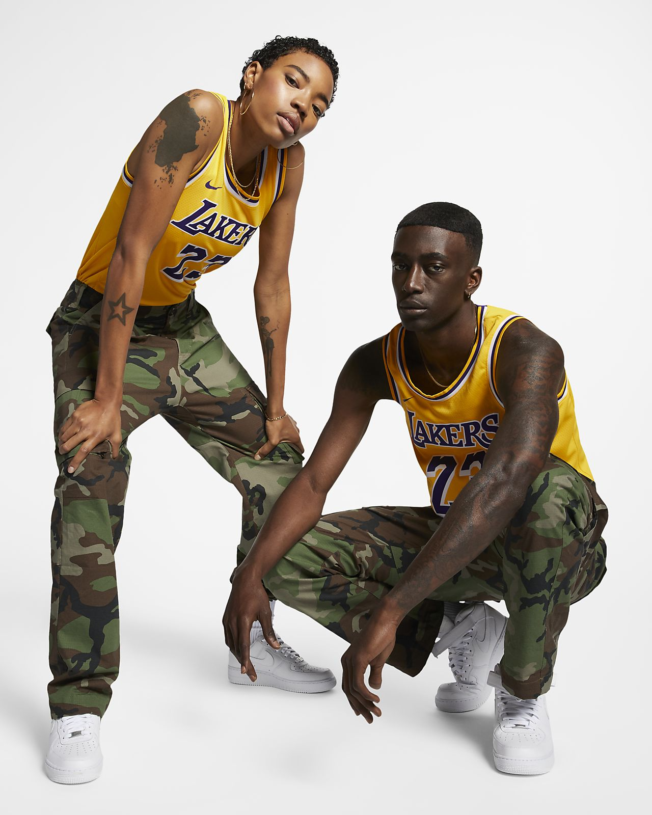 0fc7d334ebed5 ... Camiseta Nike NBA Connected para hombre LeBron James Icon Edition  Swingman (Los Angeles Lakers)