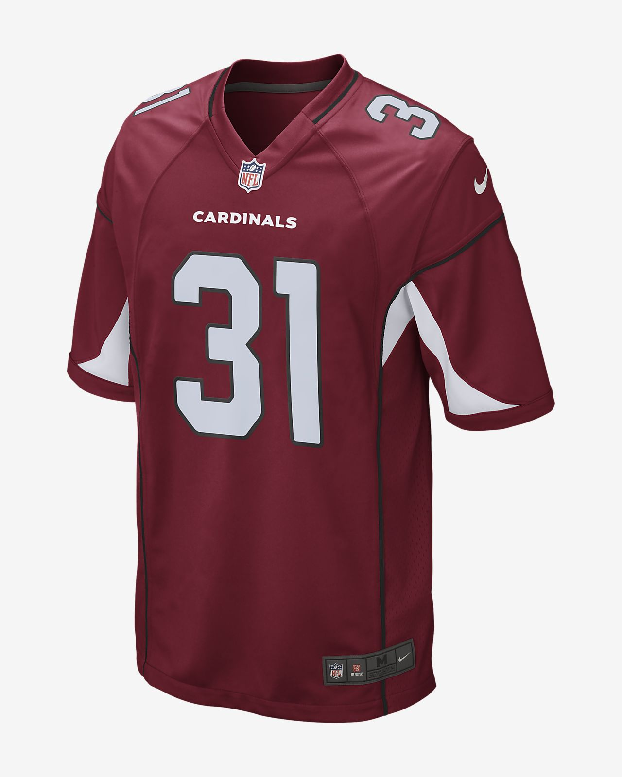 NFL Arizona Cardinals (David Johnson) Men's American Football Game Jersey