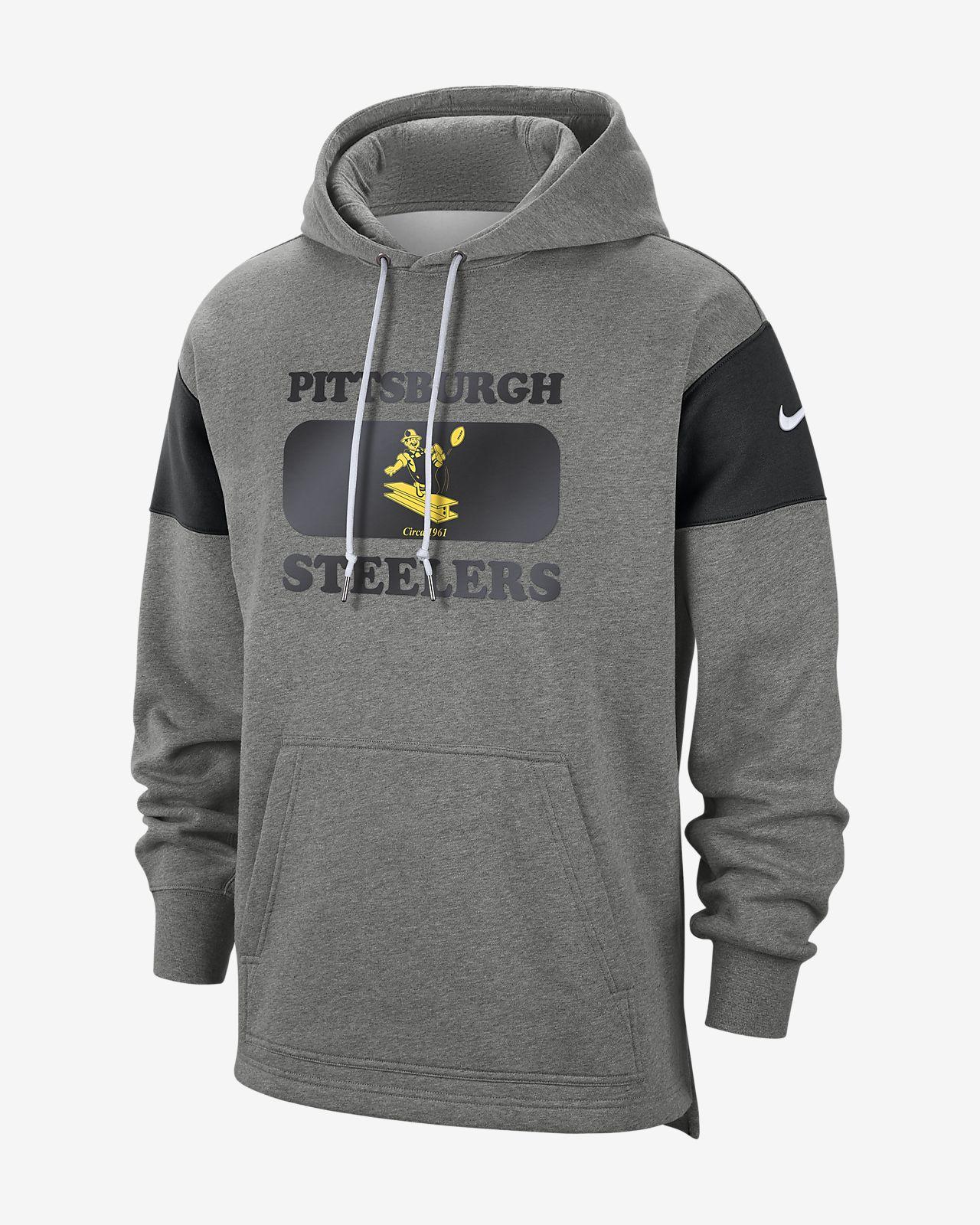 sale retailer d6654 2c788 Nike (NFL Steelers) Men's Hoodie