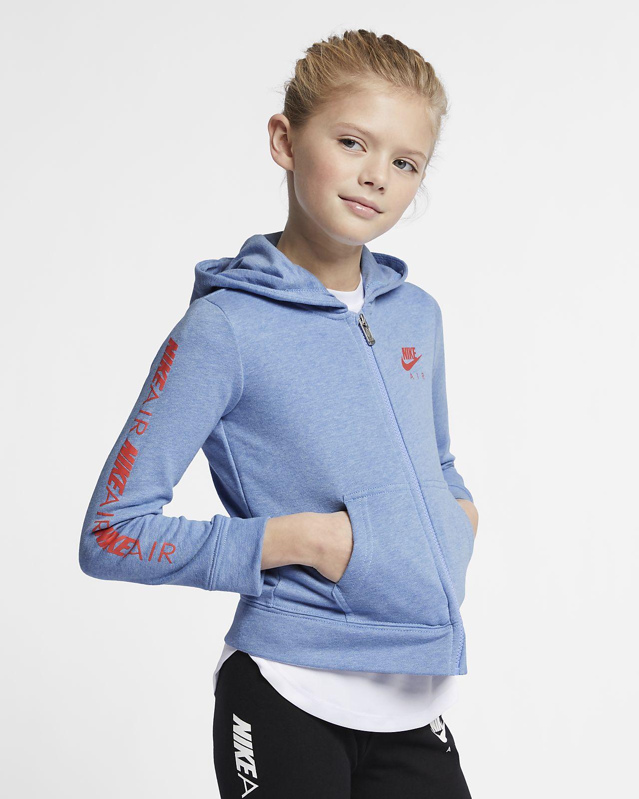 Nike Air Little Kids' Full-Zip Hoodie