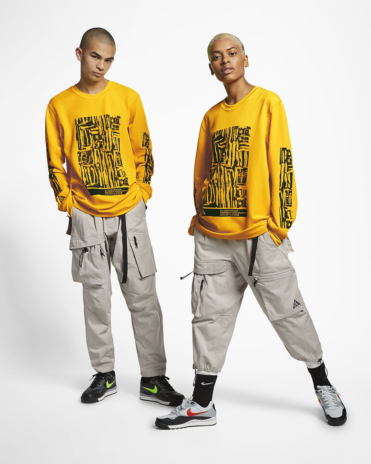 meet premium selection first look Nike ACG Long-Sleeve Top