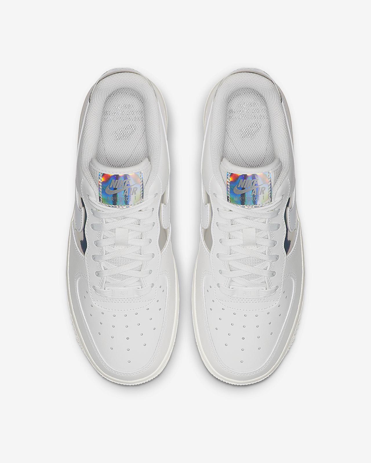 Nike Air Force 1 Low Iridescent Womens CJ9704 100