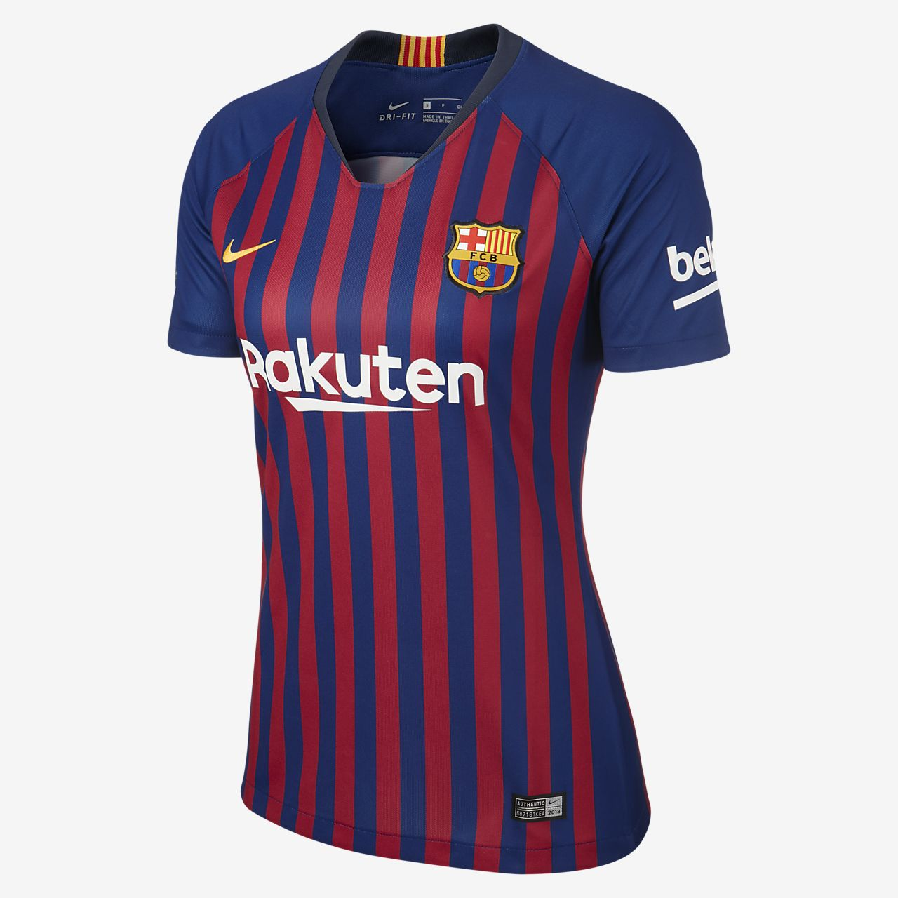 2018/19 FC Barcelona Stadium Home Women's Football Shirt