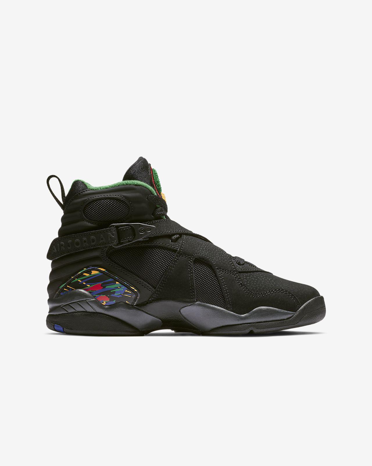 timeless design 201a4 316c0 ... Air Jordan Retro 8 Big Kids  Shoe