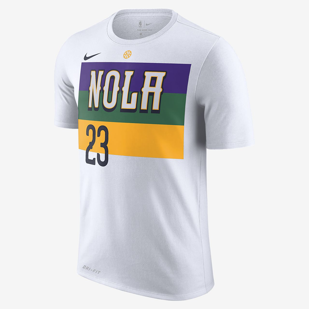 e2920100 ... low price anthony davis new orleans pelicans city edition nike dri fit  mens nba t shirt