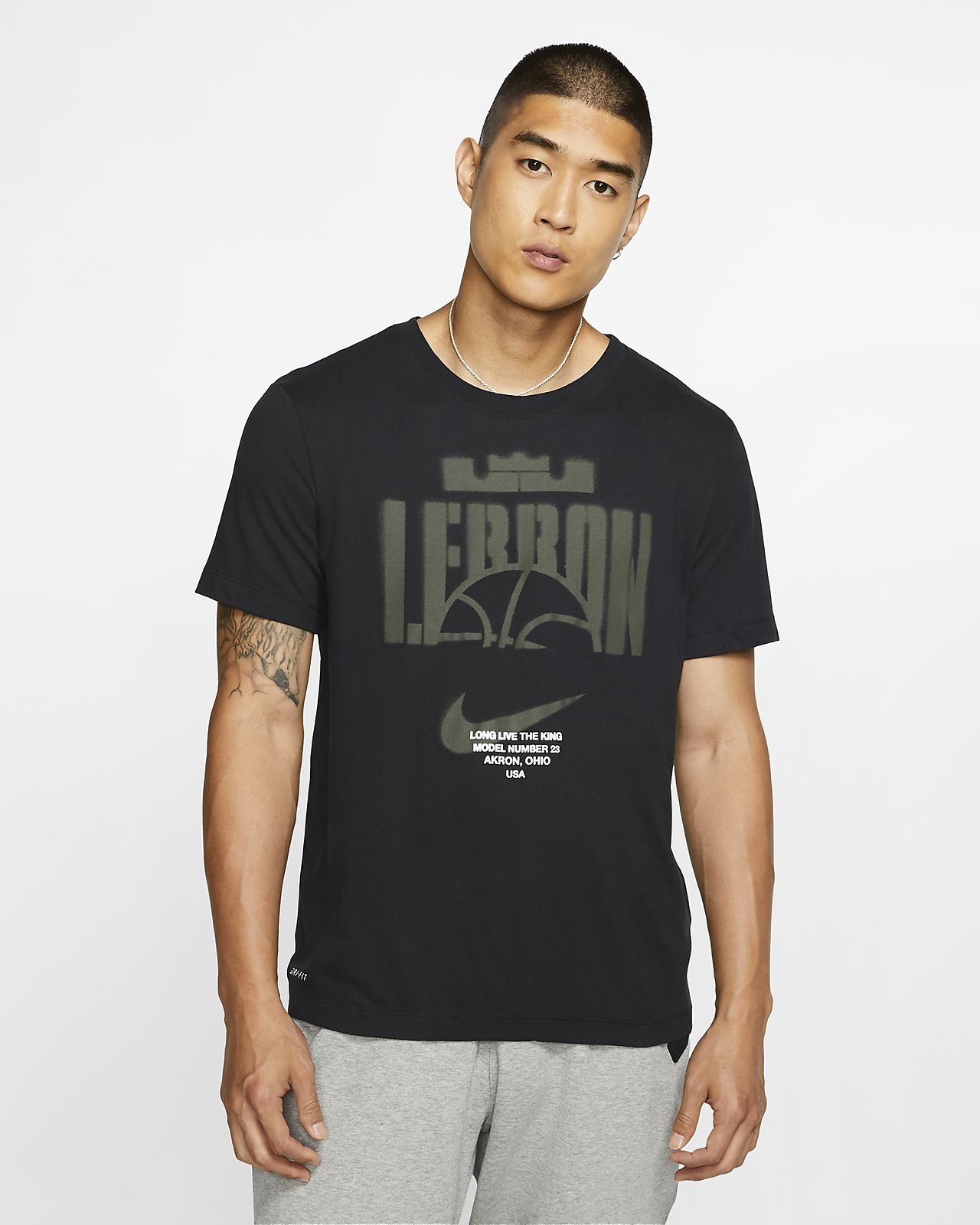 Nike Dri-FIT LeBron Men's Basketball T-Shirt