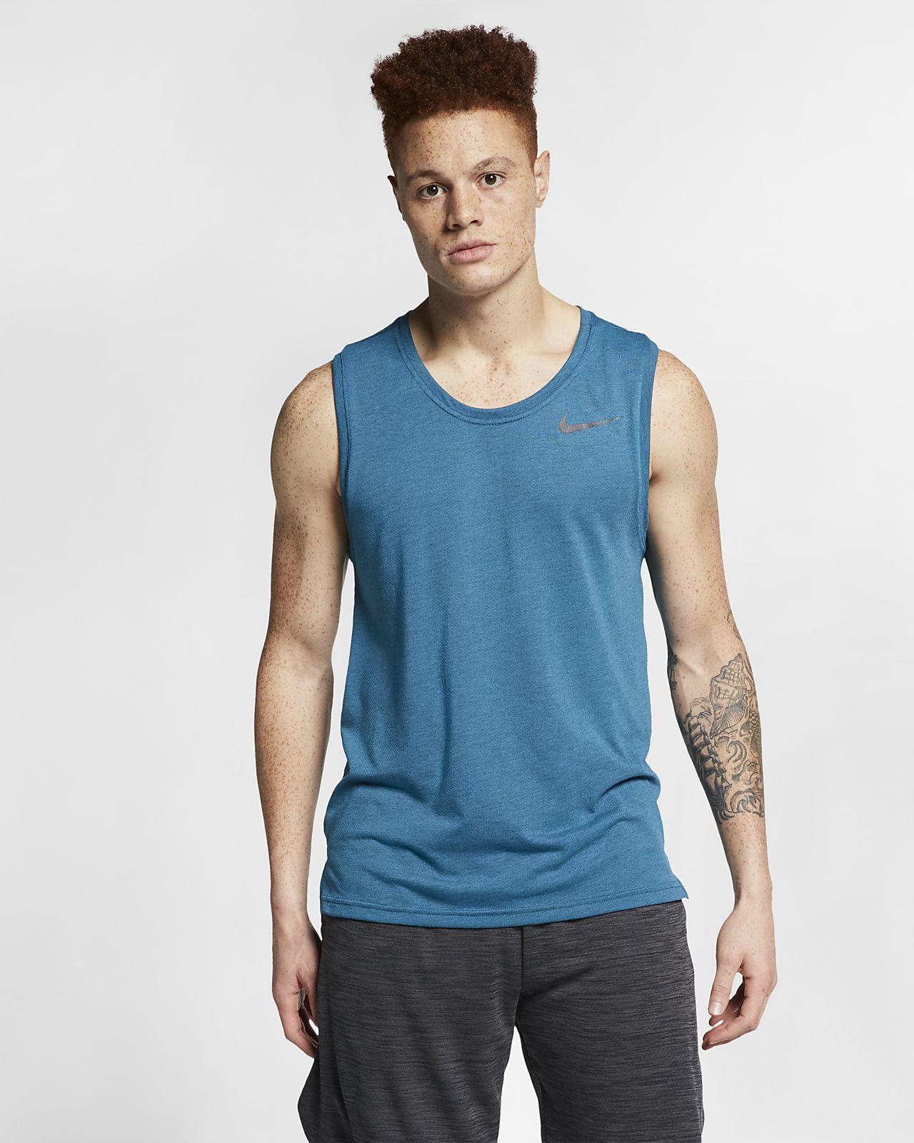 Camiseta de tirantes de entrenamiento para hombre Nike Breathe