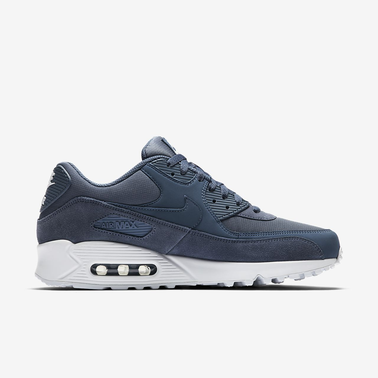 Nike Sportswear AIR MAX 90 ESSENTIAL - Trainers - blue void/game royal/white ZrHT7