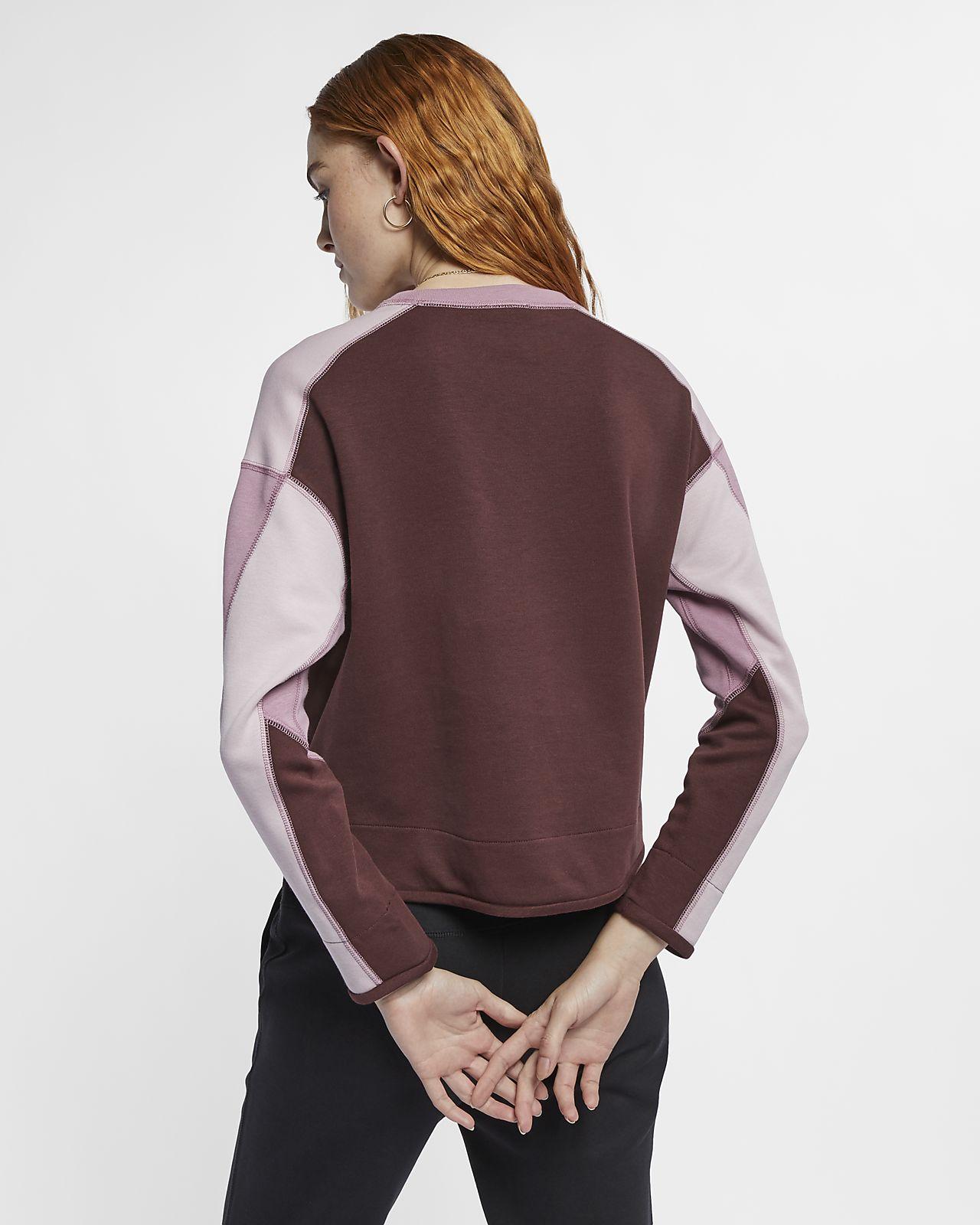 11daa2b25650 Γυναικεία μπλούζα Nike Sportswear Tech Fleece. Nike.com GR