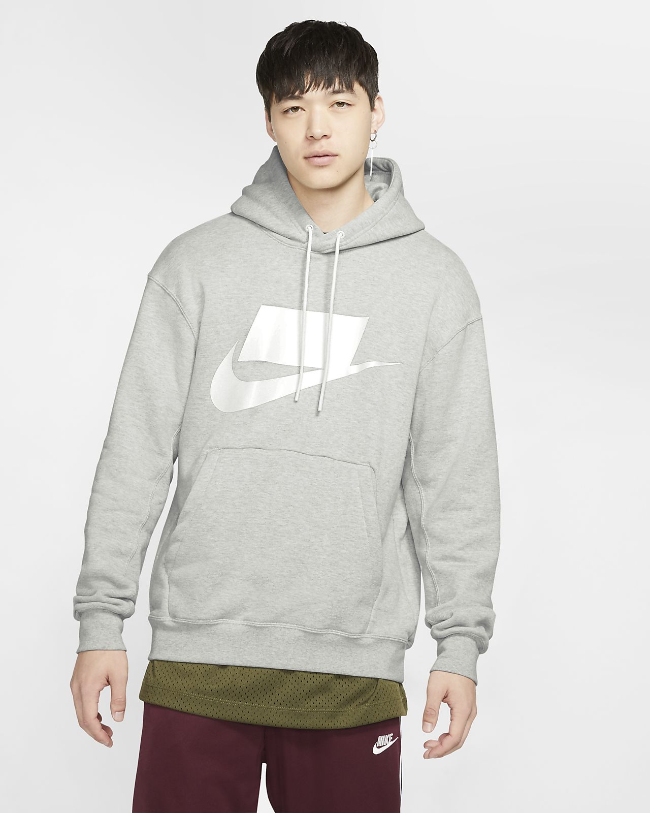 Męska bluza z kapturem z dzianiny Nike Sportswear NSW