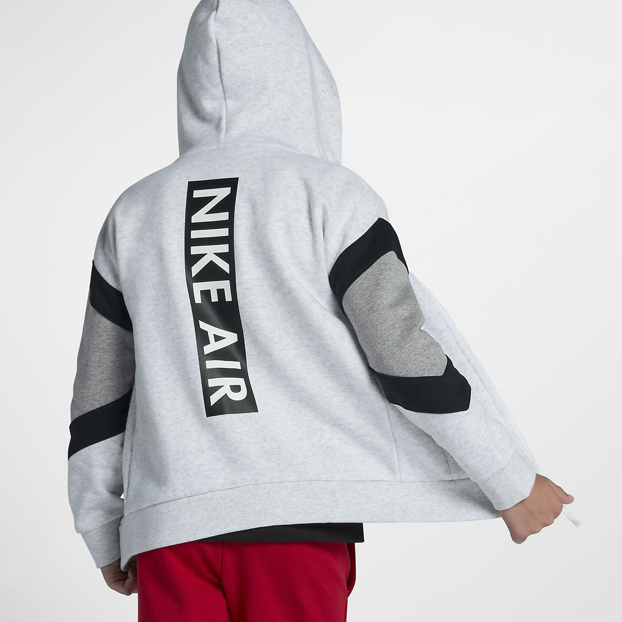 Nike Air Big Kids' (Boys') Full-Zip Hoodie