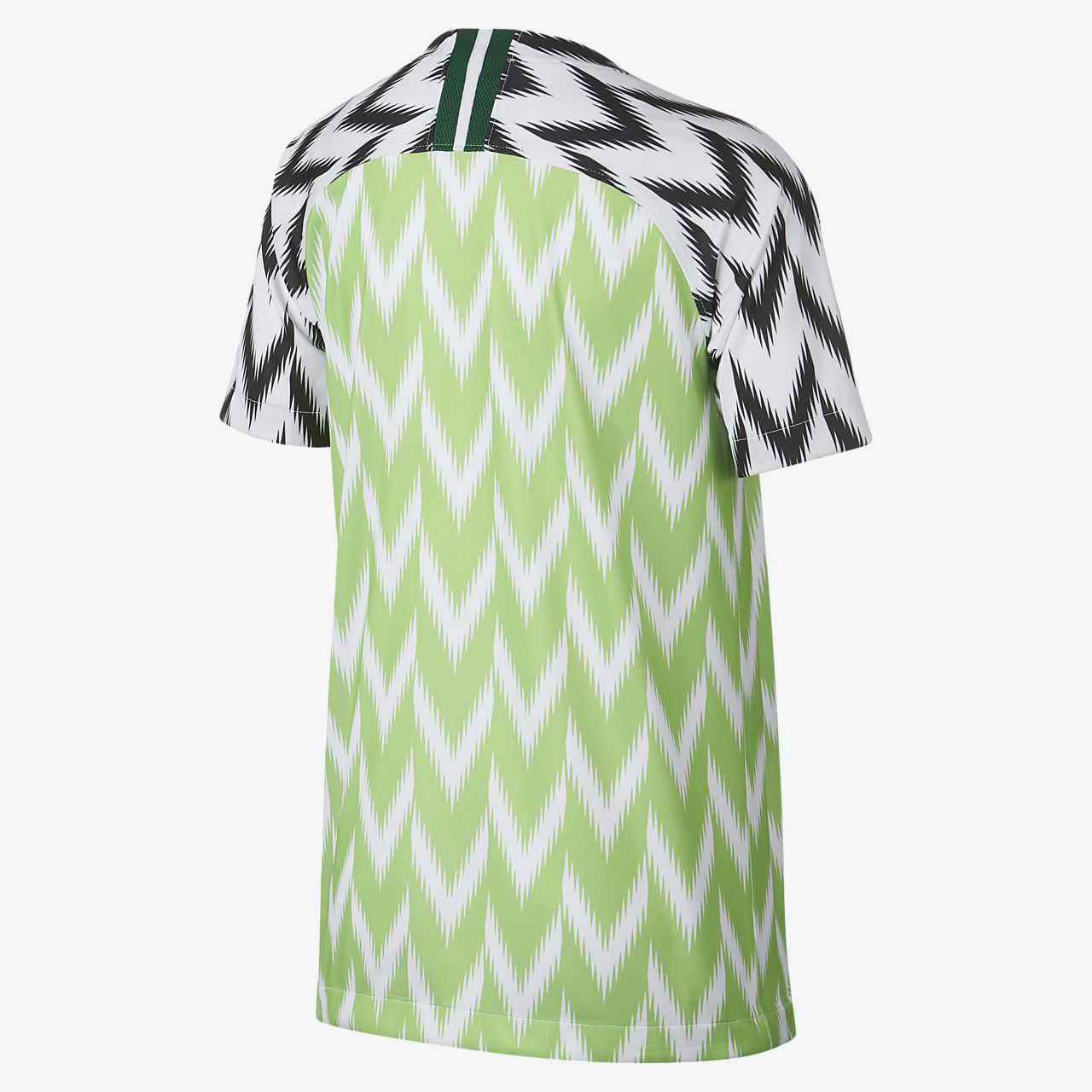 2db0a7626 Nigeria 2019 Stadium Home Kids  Soccer Jersey. Nike.com