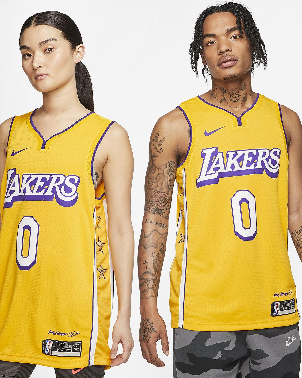Kyle Kuzma Lakers – City Edition Nike NBA Swingman Jersey
