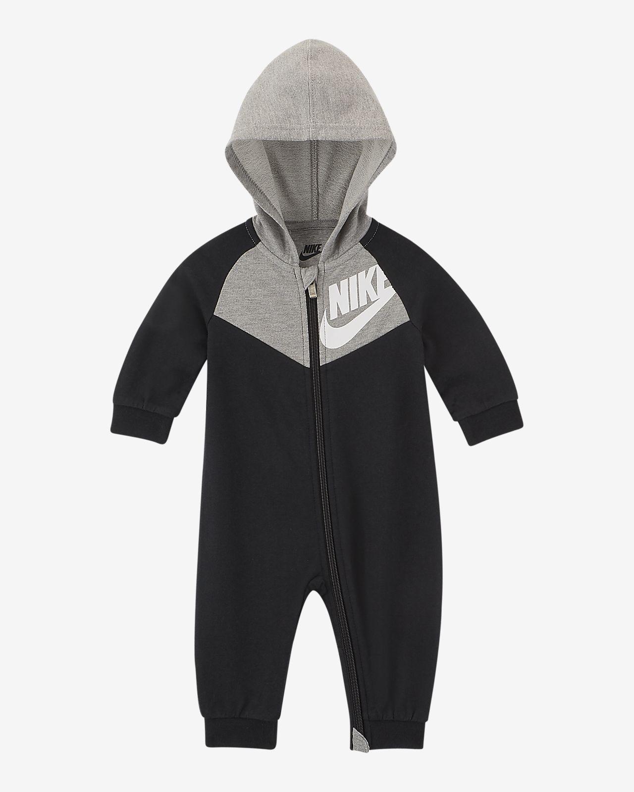 Nike Sportswear coverall med huva för baby (0-9 mån)