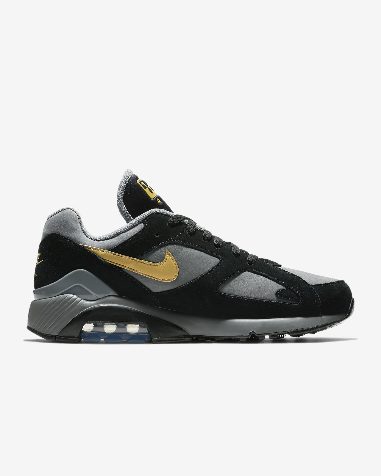 timeless design e8ea7 8d60e ... Nike Air Max 180-sko til mænd