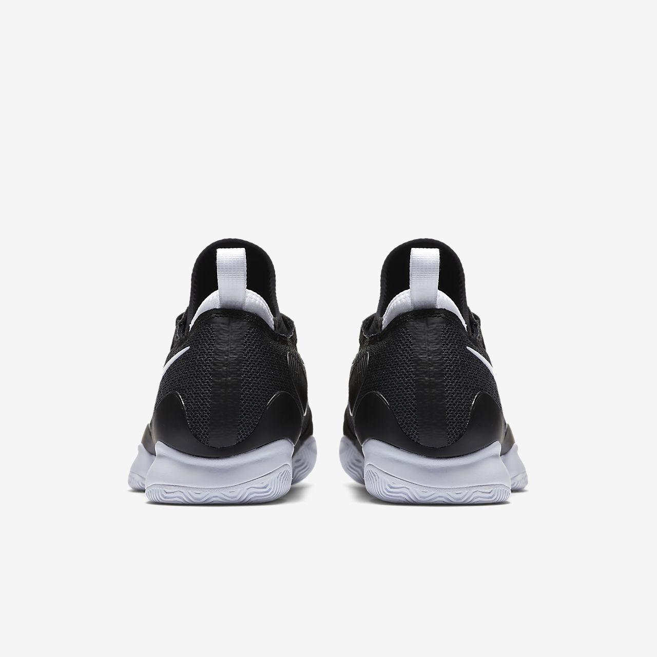 Nike PerformanceMEN AIR ZOOM ULTRA REACT HC - Outdoor tennis shoes - black/white/anthracite i2lwE
