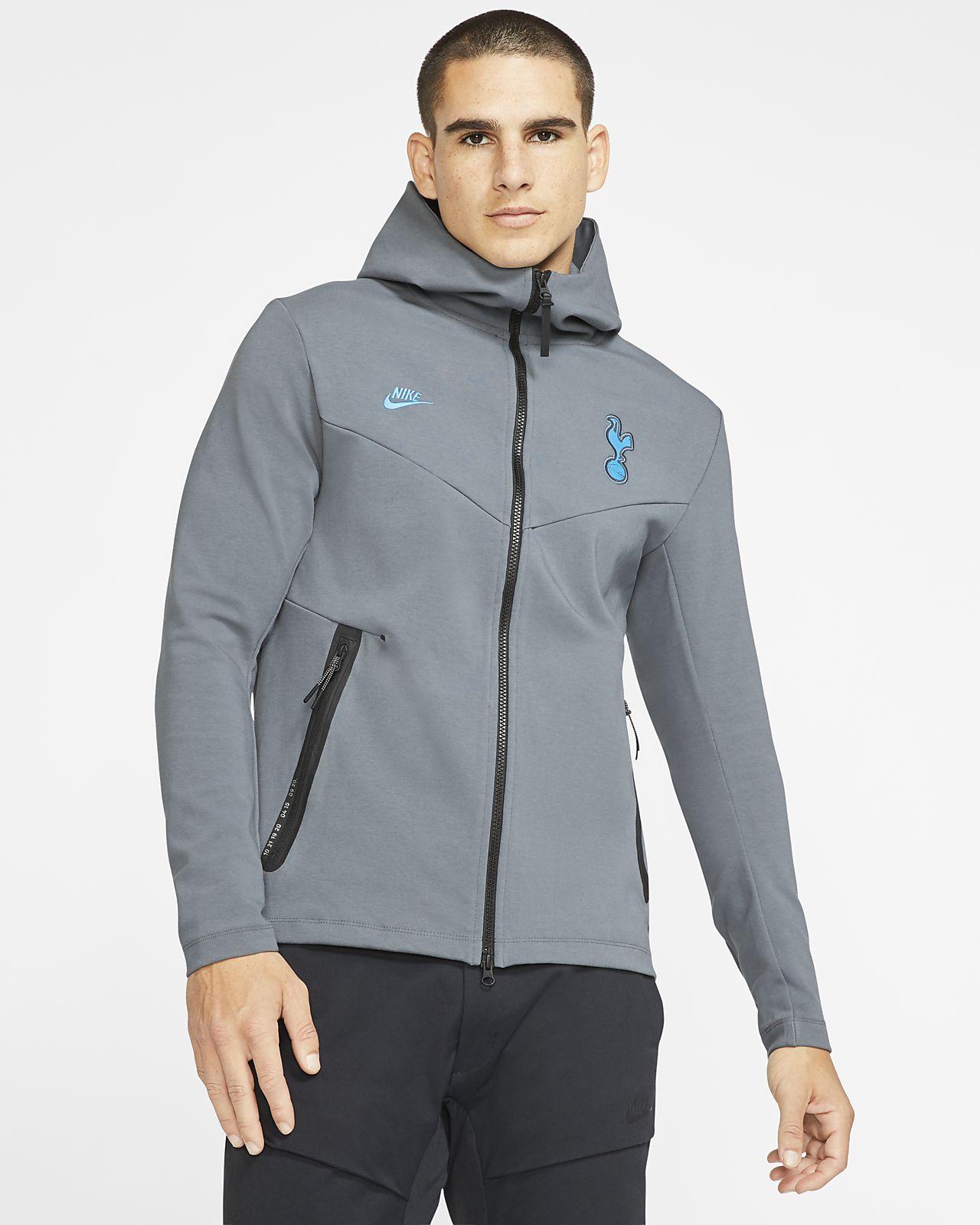 Nike Hotspurs Prestazioni Tottenham Felpa Ottica Zip up Blu