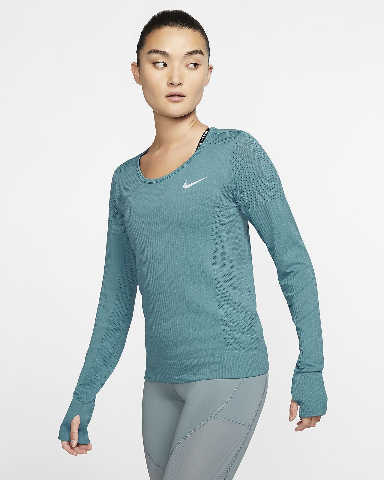 Nike Haut Running Miler Manches Longues Femme | JD Sports